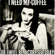 Lilly Muster - I need coffee Coffee Club, Coffee Talk, Coffee Is Life, I Love Coffee, My Coffee, Coffee Shop, Coffee Break, Coffee Mugs, Coffee Humor