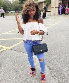 WEBSTA @ amourjayda - Ask me how I feel.... Hair : @shopamourjayda | pinterest: @tileeeeyahx3 ✨