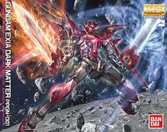 Our shop retails Gundam Exia Dark Matter (MG) (Gundam Model Kits) Bandai Mobile Suit Gundam MG Build Fighters Master Grade 1/100 2279765 on the Web.