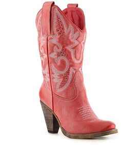 ShopStyle: Volatile Denver Western Boot I have always wanted a pair of red cowboy boots these are it! Red Cowboy Boots, Red Boots, Western Boots, Dsw Shoes, Shoe Boots, Shoe Bag, Ankle Boots, Shoe Brands, Denver
