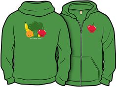 Now You're Cookin'! - Reckoned 5/13/12 ||| Eat more meat Zip-Up Hoodie by tjost