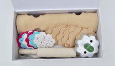 felt sugar cookie kit