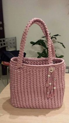 Discover thousands of images about Luciana Albieri Ravelry anchors aweigh tote b This pin was discovered by mot – Artofit Crochet knitting bag fashions www canimanne com bags