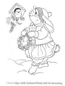 Coloring Book~Julie's Journey Decorating for Christmas - Bonnie Jones - Picasa Web Albums