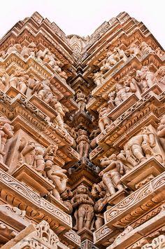 Madhya Predesh, Khajuraho, India (The Kama Sutra temples). Photo: Michael Maniezzo via Flickr