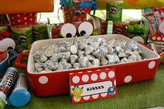 Monster Themed Birthday Party via Karas Party Ideas | KarasPartyIdeas.com #monster #birthday #party (9)