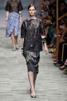 Missoni | Milão | Verão 2014 RTW- textura dos tecidos.