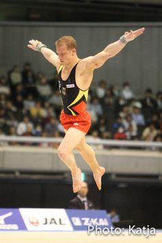 Fabian Hambüchen bei Weltpokal Tokio 2014 Photo by Katja
