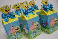 Spongebob Birthday Party, 2nd Birthday, Birthday Parties, Party Cakes, Gift Wrapping, Blog, Ideas, Spongebob Birthday Cakes, Toddler Boy Birthday