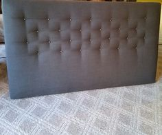 Head Boards, Home Staging, Mattress, Decorating, Bed, Furniture, Home Decor, Decor, Dekoration