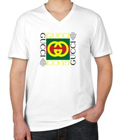 fcd03e8c2 Amazing Gucci Logo New Edition Unisex V-Neck T-Shirt Gucci Hoodie Mens,