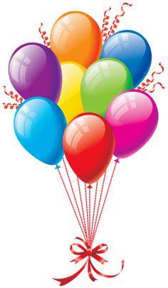 Ideas Birthday Balloons Clipart Happy For 2019 Happy Birthday Clip, Birthday Clips, Happy Birthday Images, Birthday Greetings, Birthday Wishes, Birthday Celebration, Birthday Balloons Clipart, Balloon Clipart, Happy Birthday Balloons