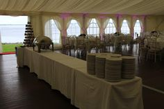 Marquee Wedding Solutions - Marquee Hire Ireland Wedding Marquee Hire, Bar Hire, Portable Toilet, Wedding Gallery, Restaurant Bar, Valance Curtains, Ireland, Table Decorations, Luxury