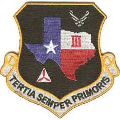 Translation: the third is always at the top. Civil Air Patrol, Civilization, Badge, Patches, Texas, Military, American, Antiques, Board
