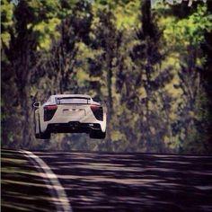Flying Lexus LFA via carhoots.com