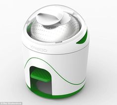 An inventor in Toronto has designed a portable washing machine called Drumi (pictured) tha...