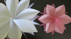 Giant Paper Flowers - An Origami Twist Tutorial https://youtu.be/8wo5s5xPCuc