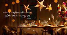 Ein schöner Tisch zu Weihnachten