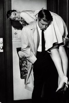 Holly Golightly and Paul Varjak - Breakfast at Tiffany's (1961)