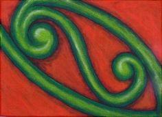 Kowhaiwhai design.