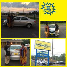 CONGRAT's to Carisha Jones ‼️On the purchase of her Toyota Corolla ...We thank you for your purchase Carisha‼️. Apply now @ www.SnapAndDrive.com to get you one... ✅✅✅EVERYBODY IS APPROVED✅✅✅. IN A SNAP #snapanddrive #getapproved