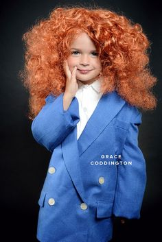 What a great Halloween costume for a little girl!