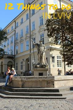 Planning a trip to Lviv / Ukraine and you don't know what to do there? No worries. In this post I will tell about my 12 favorite things to do in Lviv.