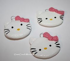 Salt dough ornaments in the shape of Hello Kitty?! I think yes. Maybe I will make another kind for the husband.
