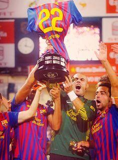 this for you Abidal! #FCB #FCBarcelona #Barca #Barcelona