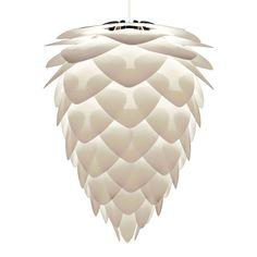 CONIA - Suspension Blanc Ø45cm + Câble blanc 2,1m - Suspension Vita designé par William Ravn VITA