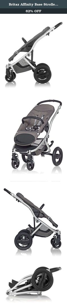 Britax Affinity Base Stroller, Silver. U421833 Color: Silver Features: -Product Type:Standard strollers -Color:Black -Color:Silver -Color:White -Distressed:No. Dimensions: -Overall Height - Top to Bottom:40 -Overall Width - Side to Side:23.75 -Overall Depth - Front to Back:28 -Overall Product Weight:25.