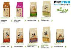 Διαθέσιμη στο eshop μας η πλήρης σειρά τροφών σκύλου της Planet Pet , χωρίς σιτηρά ! http://www.petfish.gr