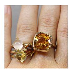 Honey, this citrine is like honey and sunshine. . . . #citrine #finejewellery #jotd #jewellerygram  #ringsofinstagram
