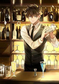 🌻¡Tantei-Kun!🌻『2』 - 🕸164🕸 - Wattpad Handsome Anime Guys, Cute Anime Guys, Cute Anime Couples, Magic Kaito, Anime Chibi, Manga Anime, Anime Art, Anime Films, Anime Characters