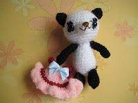 How to Make a Baby Girl Panda Amgurumi