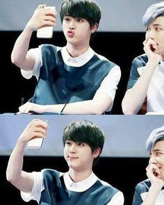 NamJin ❤ Aww their face on the 2nd pic