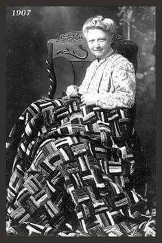 1907 courtepointe