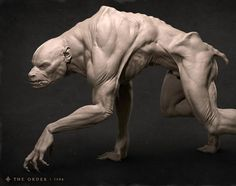 High poly Lycan Soldier for The Order 1886. Concept by Jordu Schell and Tobi Kwan. I was responsible for the design of much of the muscular anatomy.