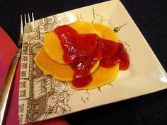 Pancakes – Mini Peanut Butter and Jelly Pancakes