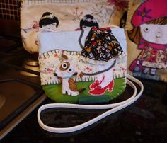 Girl's Skirt and Pipsqueak Dog Badge Bag
