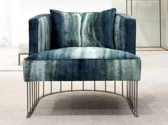 Sillón pequeño tapizado de tela TENTAZIONE by ERBA ITALIA