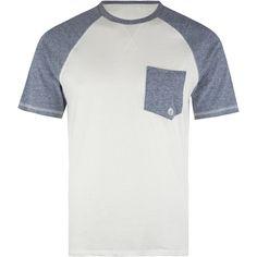 VOLCOM Rudline Raglan Mens T-Shirt (2.865 HUF) ❤ liked on Polyvore featuring men's fashion, men's clothing, men's shirts, men's t-shirts, men, shirts and vintage navy
