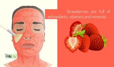 Top 10 Health Benefits of Strawberries Strawberry Plants, Grow Strawberries, Strawberry Health Benefits, Top 10 Home Remedies, Strawberry Topping, Beautiful Fruits, Cosmetology, Vitamins And Minerals, Health And Beauty