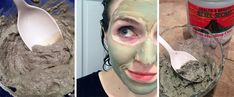 I'm not much of a beauty buff, but when a bout of severe acne hit me out of the blue in college, you better believe I tried every natural remedy and DIY . Whipped Body Butter, Shea Butter, Aztec Clay, Indian Healing Clay, Clay Faces, Face Wash, Beauty Routines, Diy Beauty, Natural Remedies