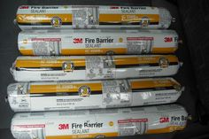 3M Fire Barrier Sealant IC 15WB 20oz - Construction Material 10 Tubes total  #3M