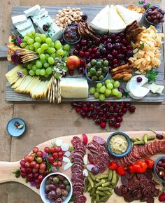"""Summer platters in full swing. #ThatCheesePlate by @annielcampbell"""