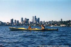 Kayaking on Lake Union, Seattle