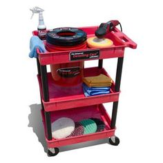 Grit Guard Universal Detailing Cart By Detail King