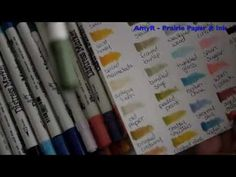 Product Review - Tim Holtz Distress Markers & Inkssentials Specialty Stamping Paper; great review