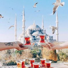 Shared by AtaDeniz✅. Find images and videos about istanbul and good morning from on We Heart It - the app to get lost in what you love. New Travel, Travel Alone, Travel Europe, Travel Essentials For Women, Turkish Tea, Turkish Kitchen, Istanbul Travel, Travel Destinations Beach, Turkey Travel